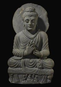 41 - Seated Buddha from Gandhara